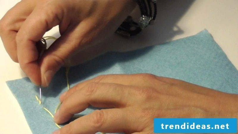 Embroider learn important stitches lockstitch instructions