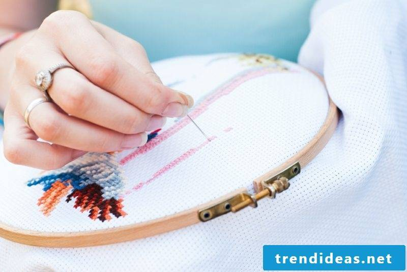 Embroidery learn simple instruction tips important stitches