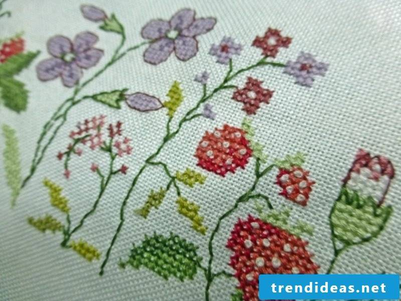 Embroidery learn patterns impressively