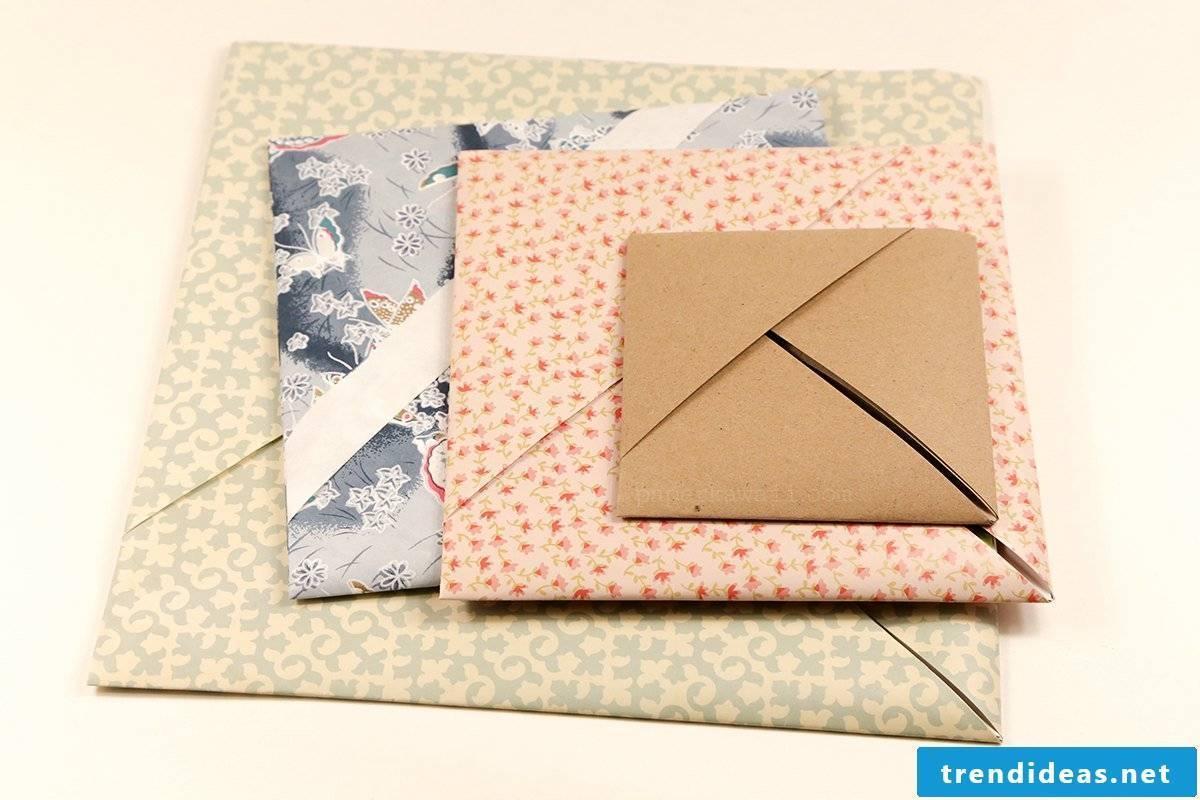 Fold the envelope