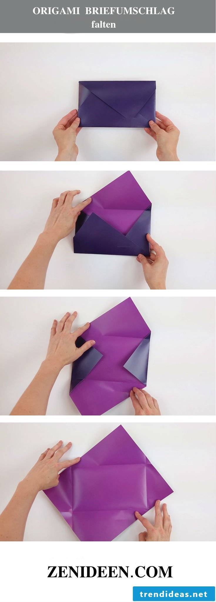 Origami folding Envelope tinker