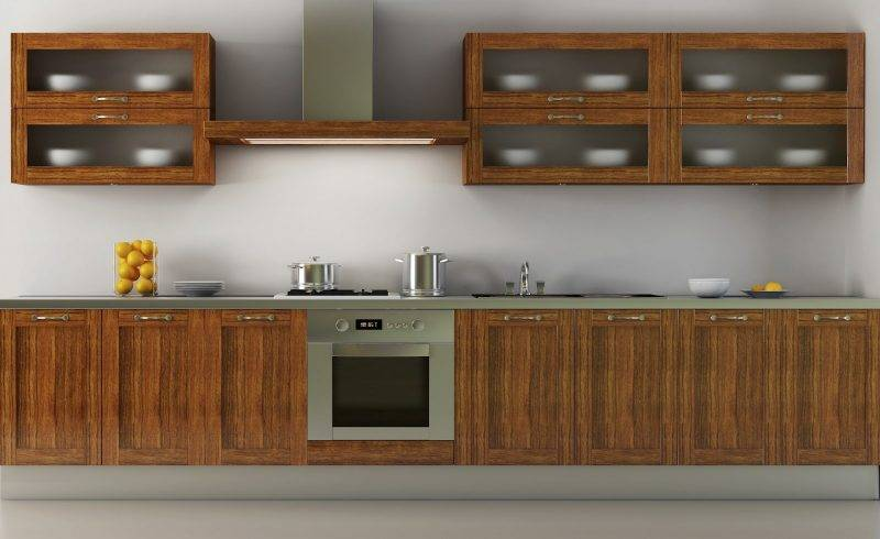 Real wood furniture Solid kitchen