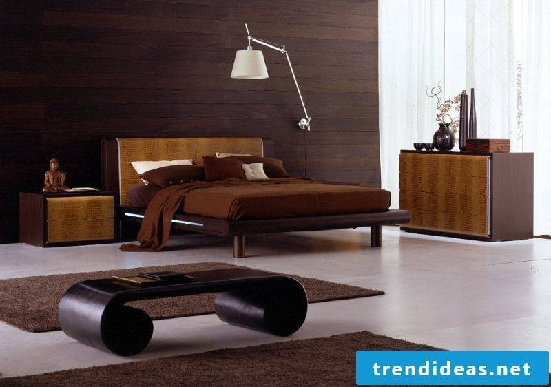 Real wood furniture bedroom design