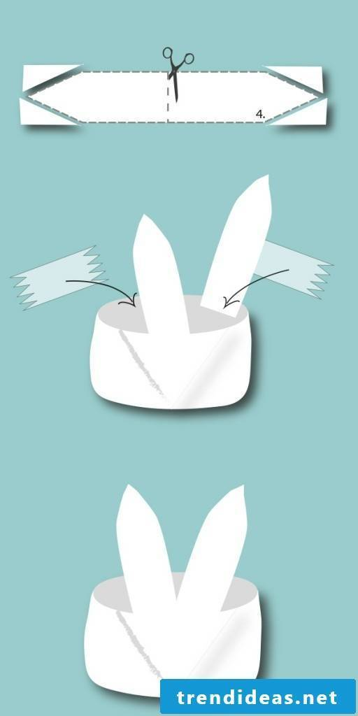 Make your own Easter Bunny - Nest