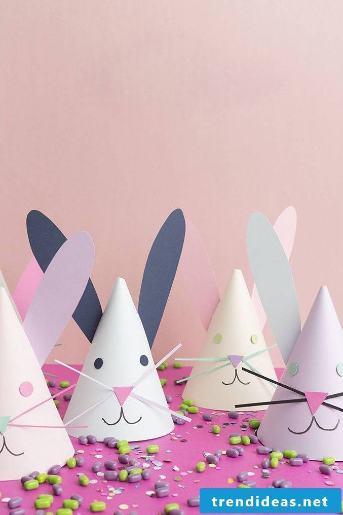 Easter Bunny Craft: Party hats
