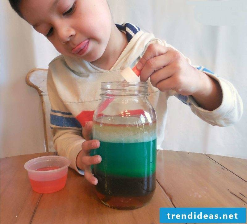 Experiments for little children