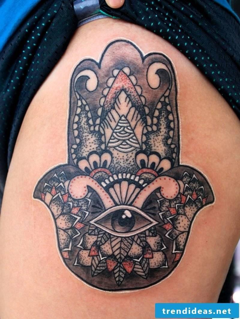 eyes tattoo protection talisman