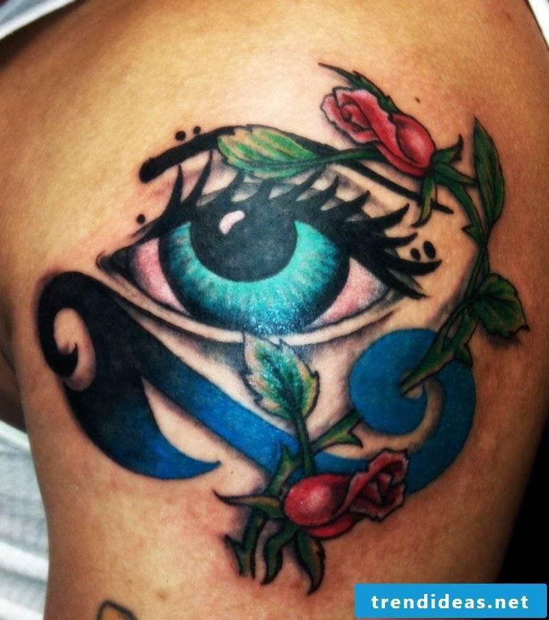 symbolic meaning eyes tattoo