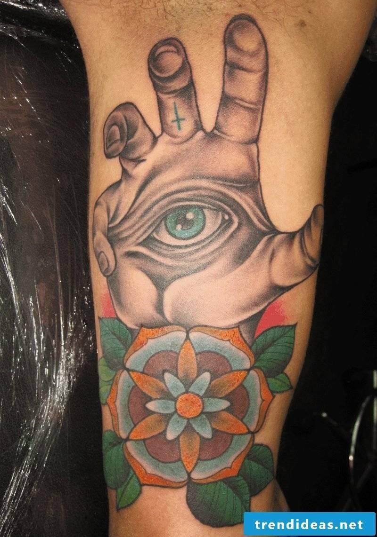 symbolic eye tattoo