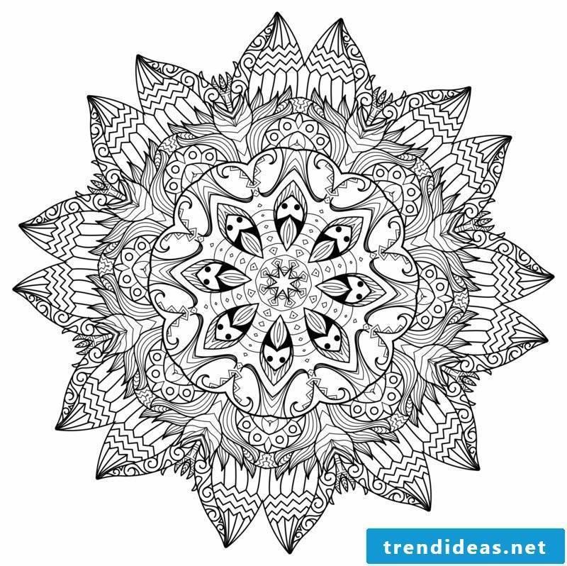 Mandala submission thinking