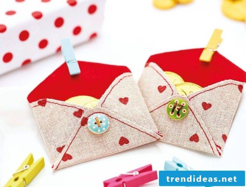 Sewing advent calendars - letters