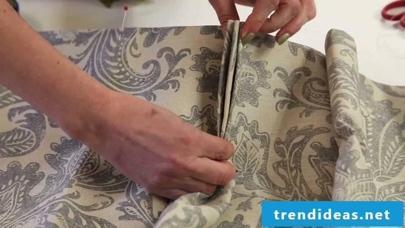 Curtain sew fashion