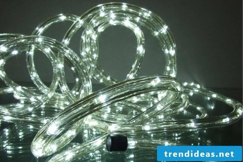 Rope light indirect LED lighting