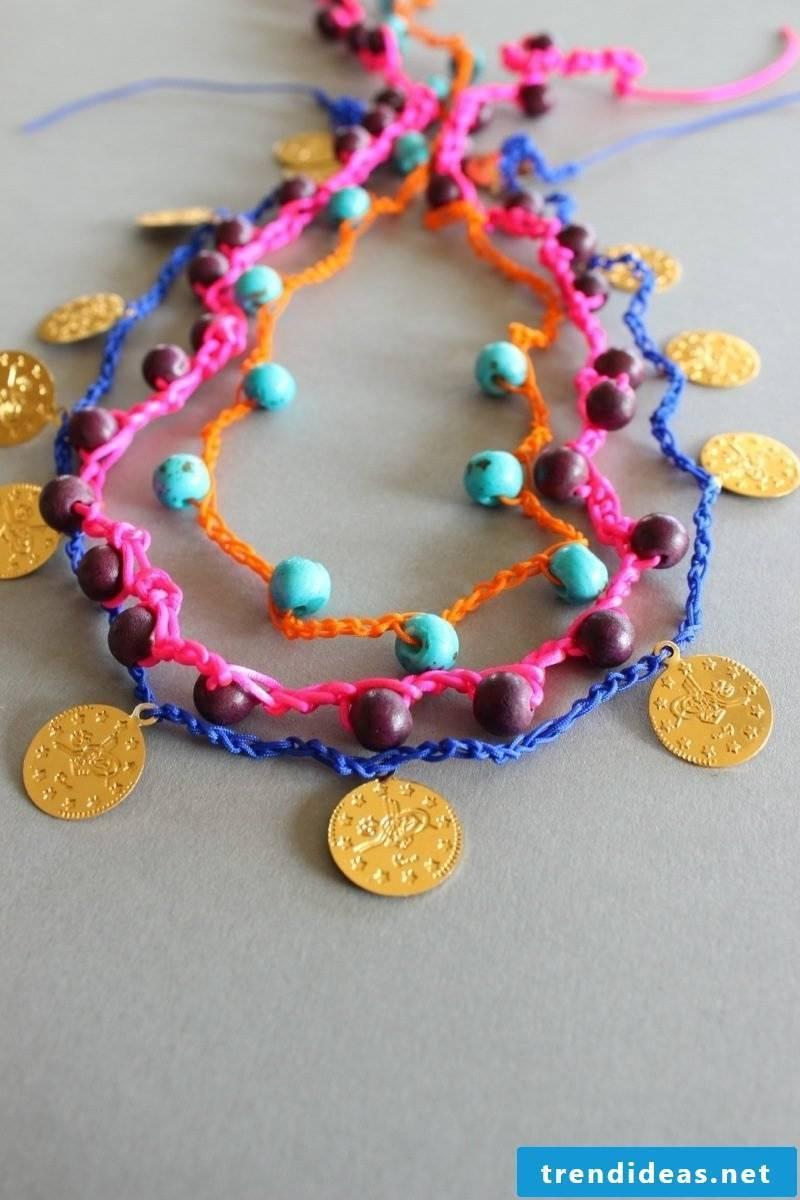 DIY bracelet Haeckeln