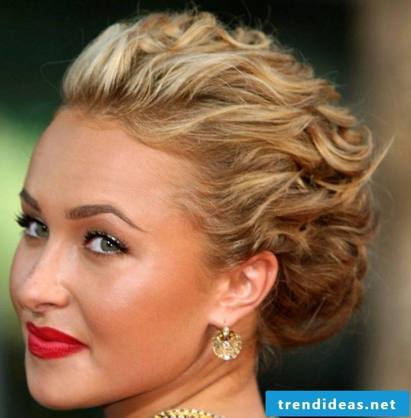 Curls Updo Classic