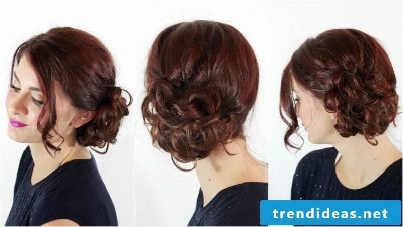 Curls Updo Dutt