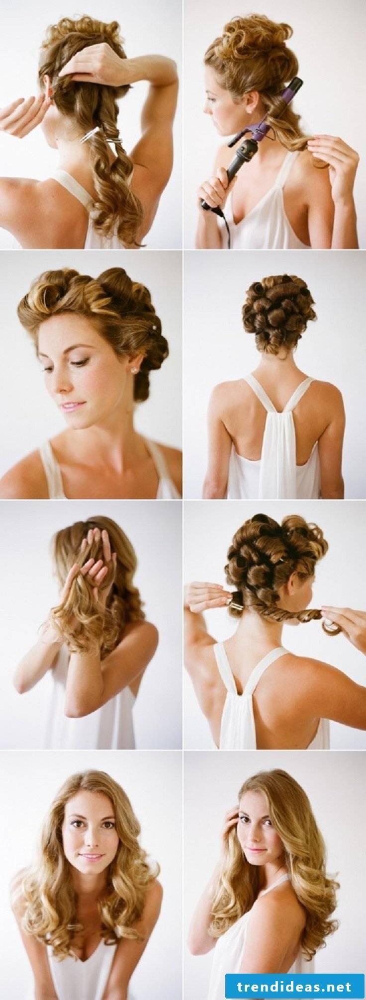 Curls Updo Tutorial