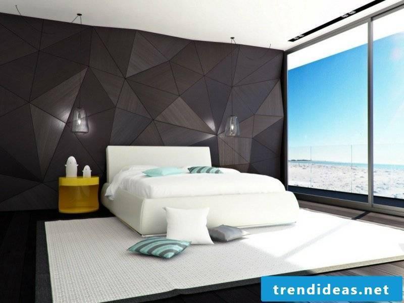 minimalist modern design in a luxury bedroom