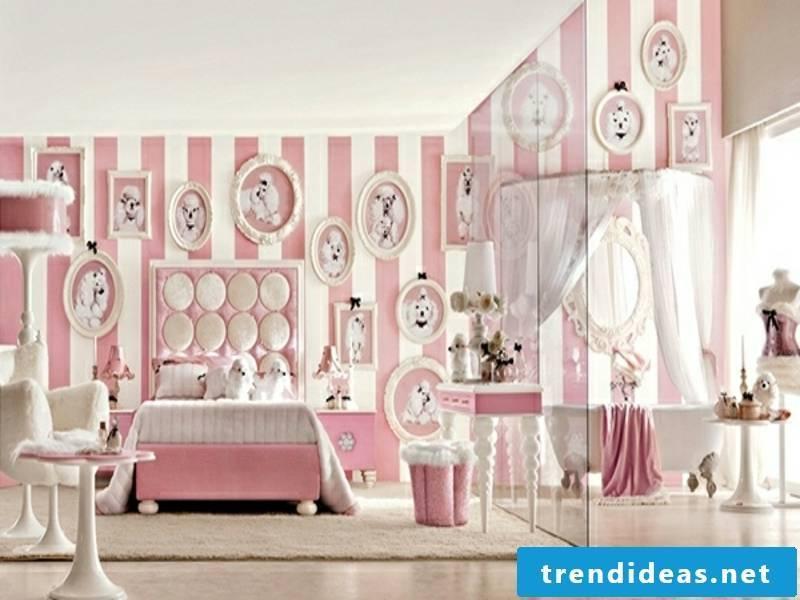 pink luxury bedroom
