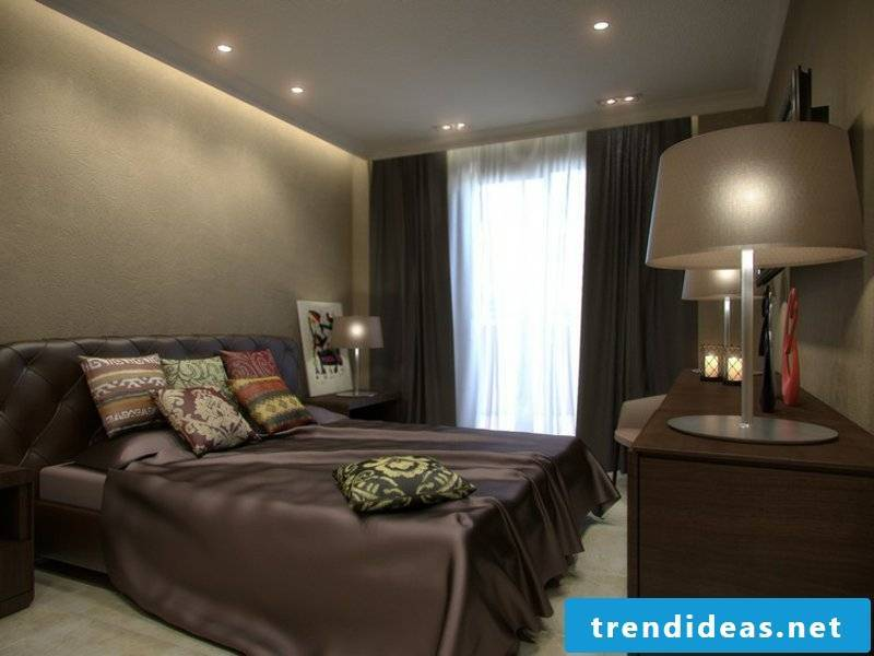 simple indirect lighting in the luxury schöafzimmer