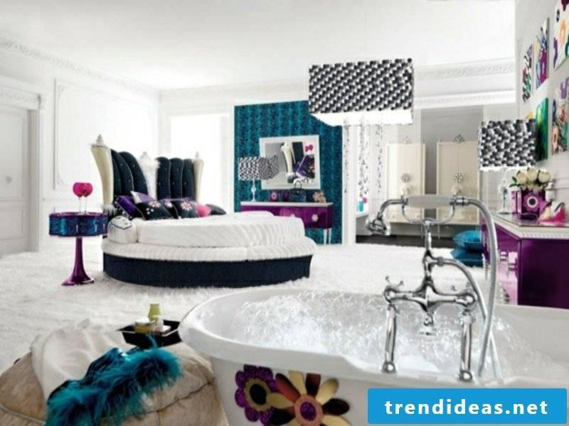 ultramodern glamorous luxury bedroom