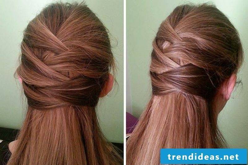 light hairstyles semi-open hairstyles