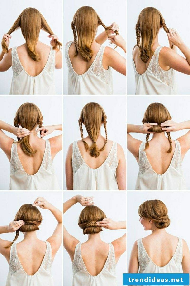 Hairstyles for medium-length hair