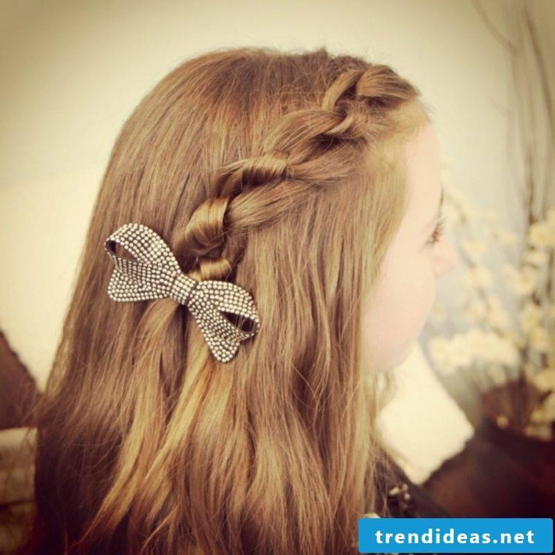 Braids for short hair and long hair