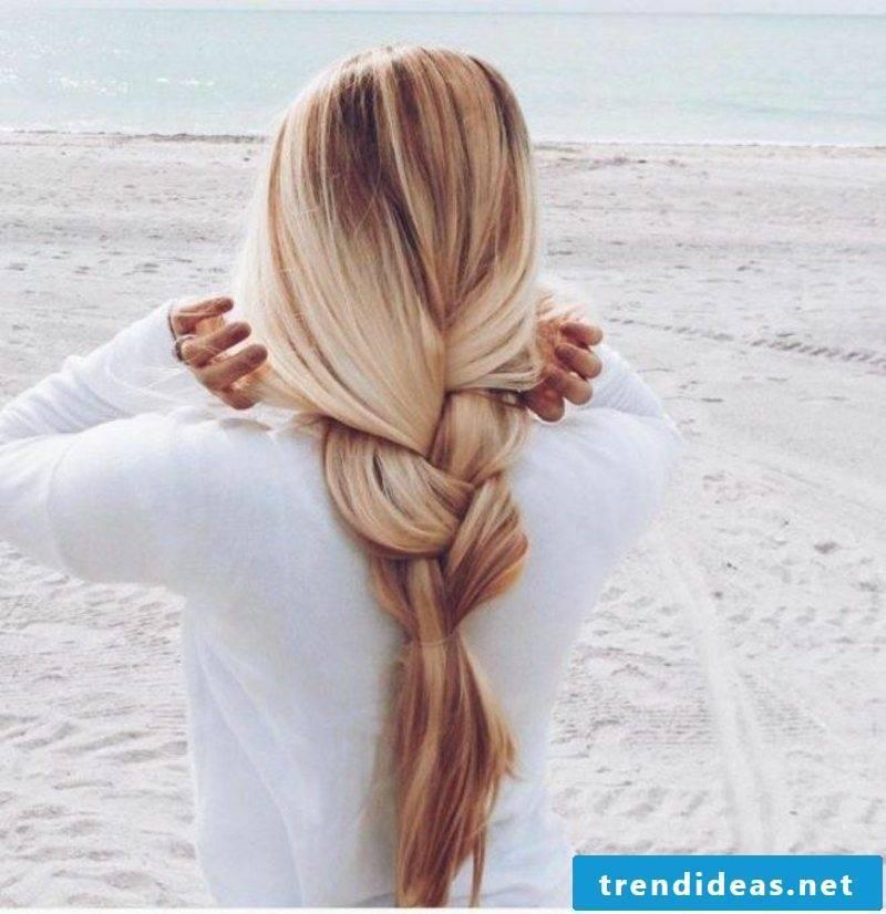 long hair hairstyles loose braid