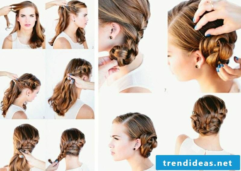 Bridal hairstyles long hair