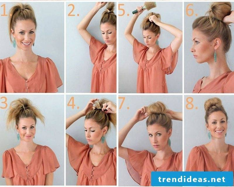 quick updos discreetly