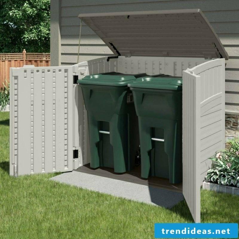 Dustbin box plastic PVC