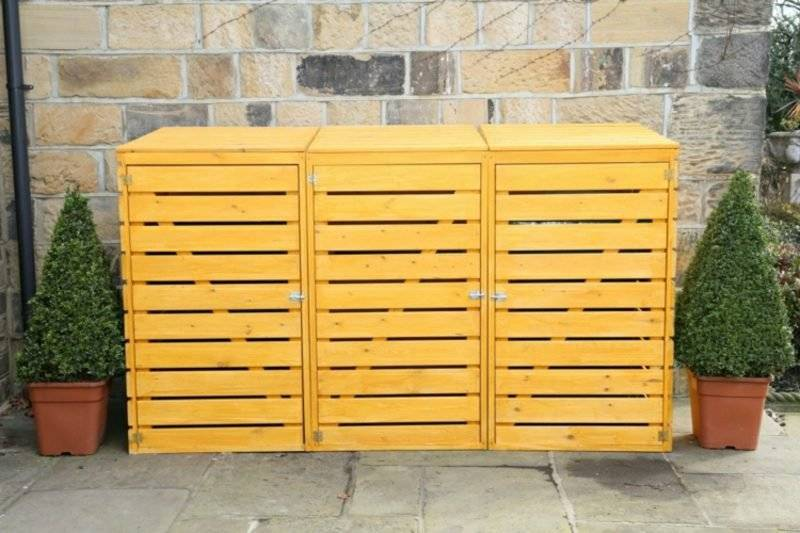 Garbage bin box for 3 tons build instruction