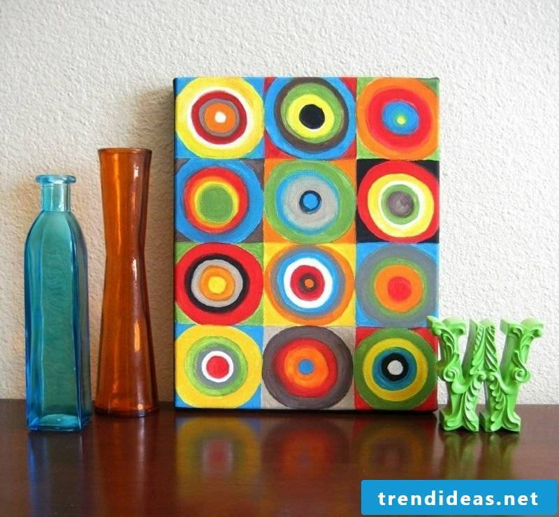 interesting picture colorful circles