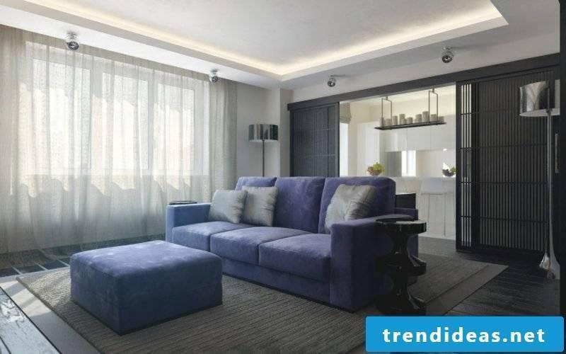 Living room indirect ceiling lighting LED