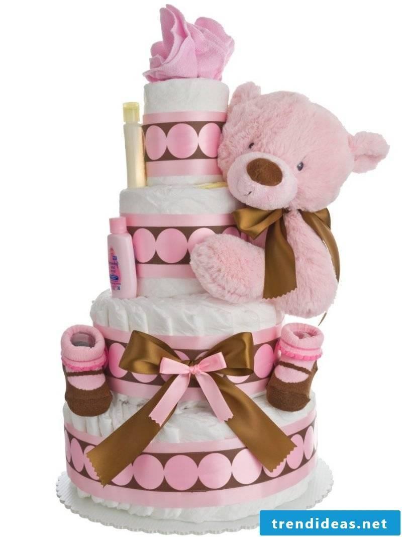 Diaper cake tinker sugary