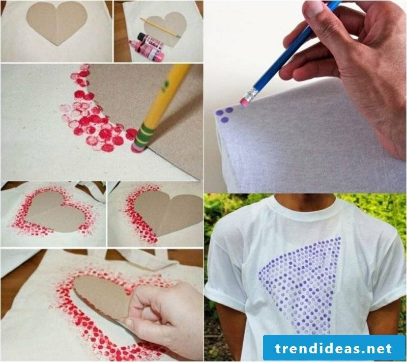 T-shirts themselves print ideas and inspirations