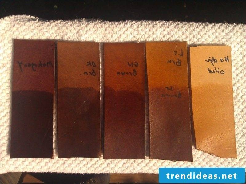 Color leather - Choose the right color