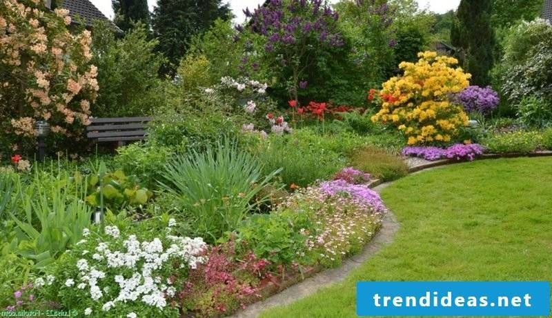 Flowerbeds Feng Shui Garden