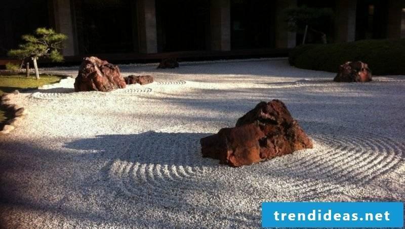 Garden design ideas after Feng Shui