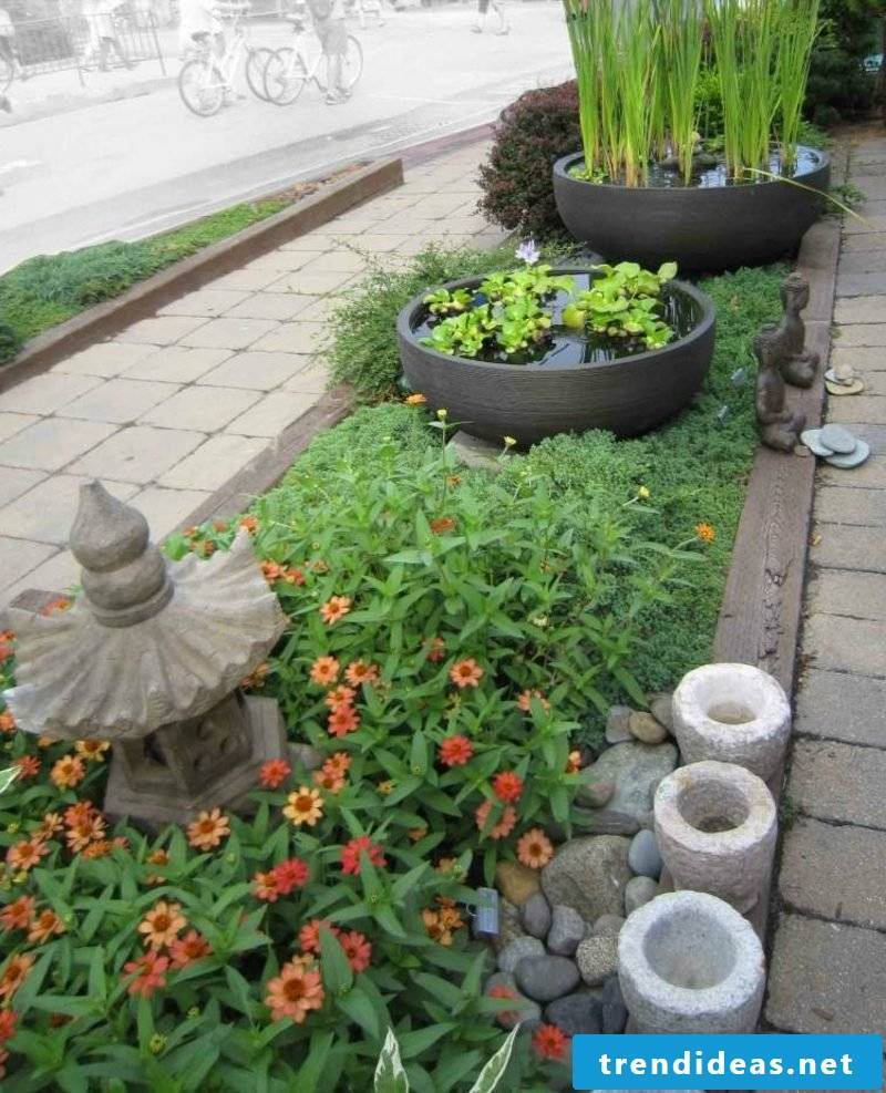 Feng Shui garden original flowerbed