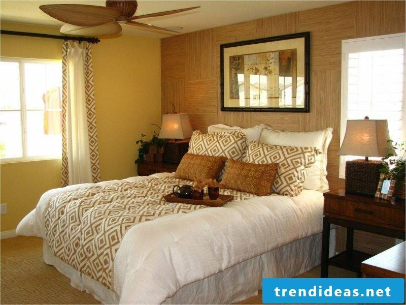 Feng Shui: love zone in the bedroom