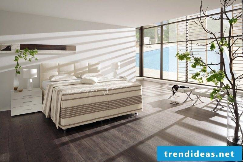 Examples of how to decorate bedrooms according to Feng Shui