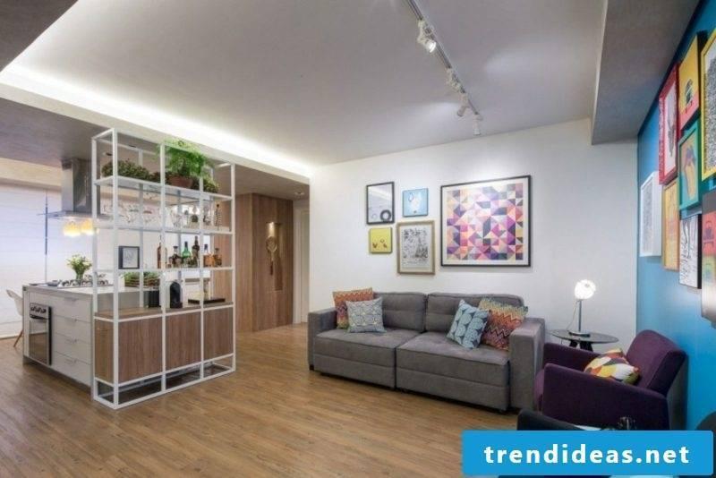 Living room indirect LED lighting
