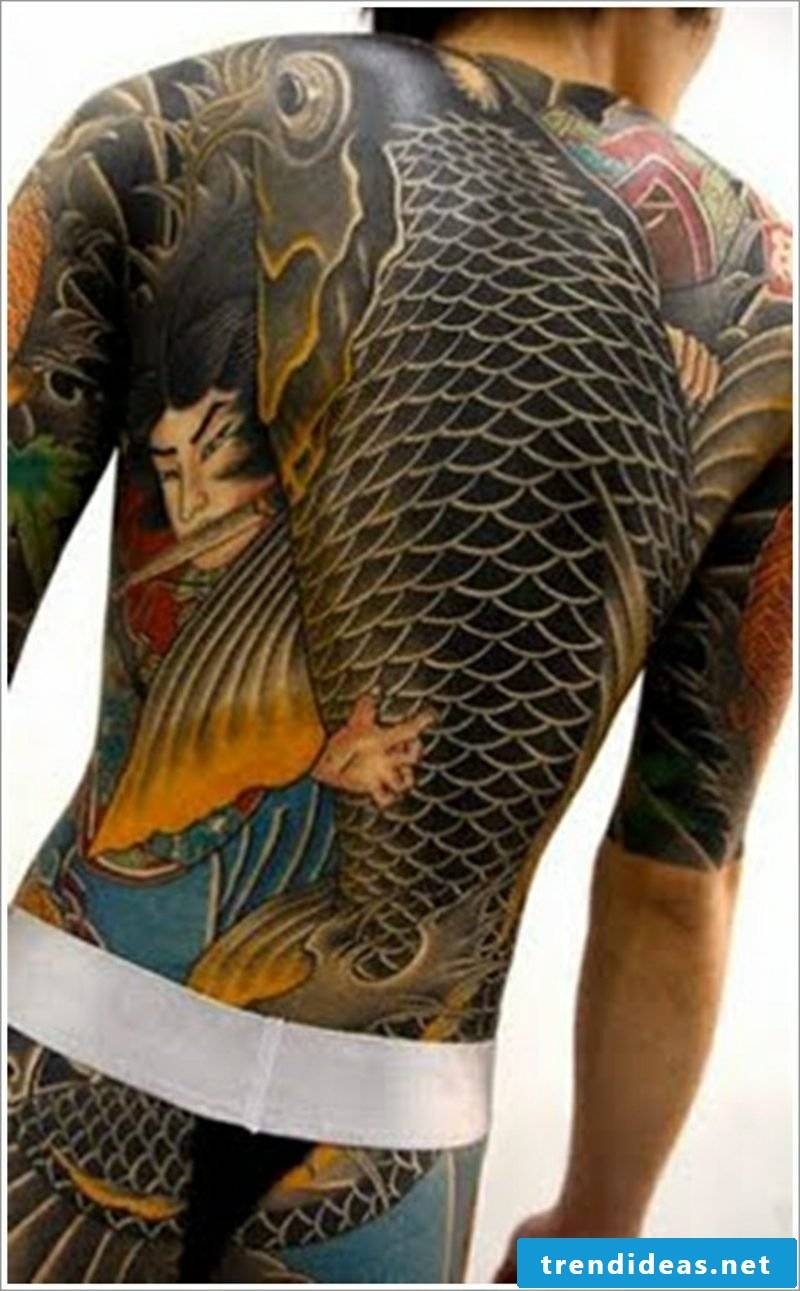 fish tattoo koi fish