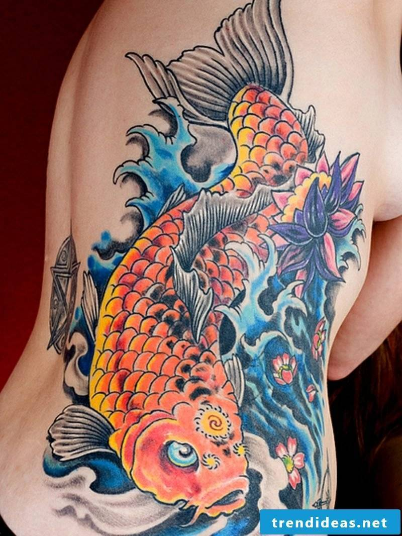 fish tattoo koi fish tattoo
