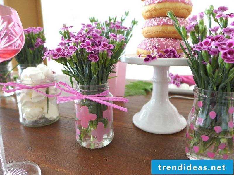 floral table decoration sweet