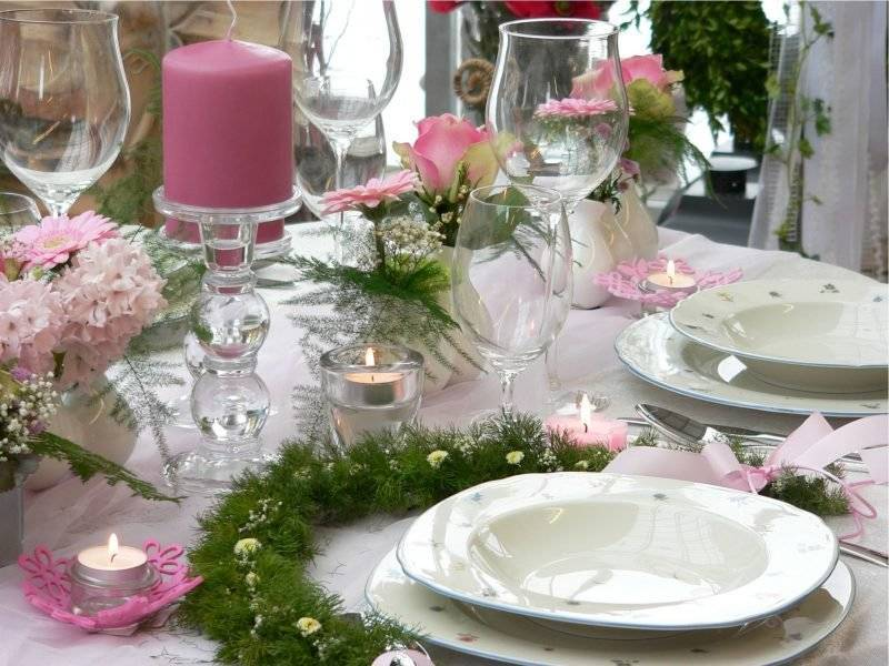 floral table decoration 2016