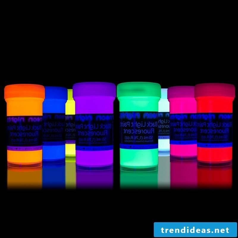 self-luminous colors