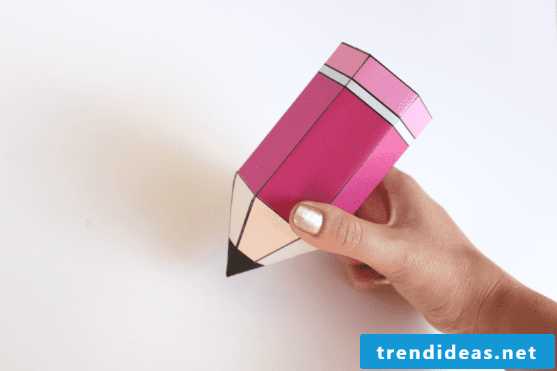 Gifts for training: Make a pencil box